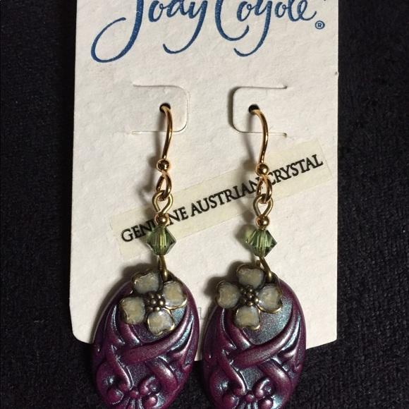 8c23f88d5 Jody Coyote Jewelry | Austrian Crystal Earrings | Poshmark